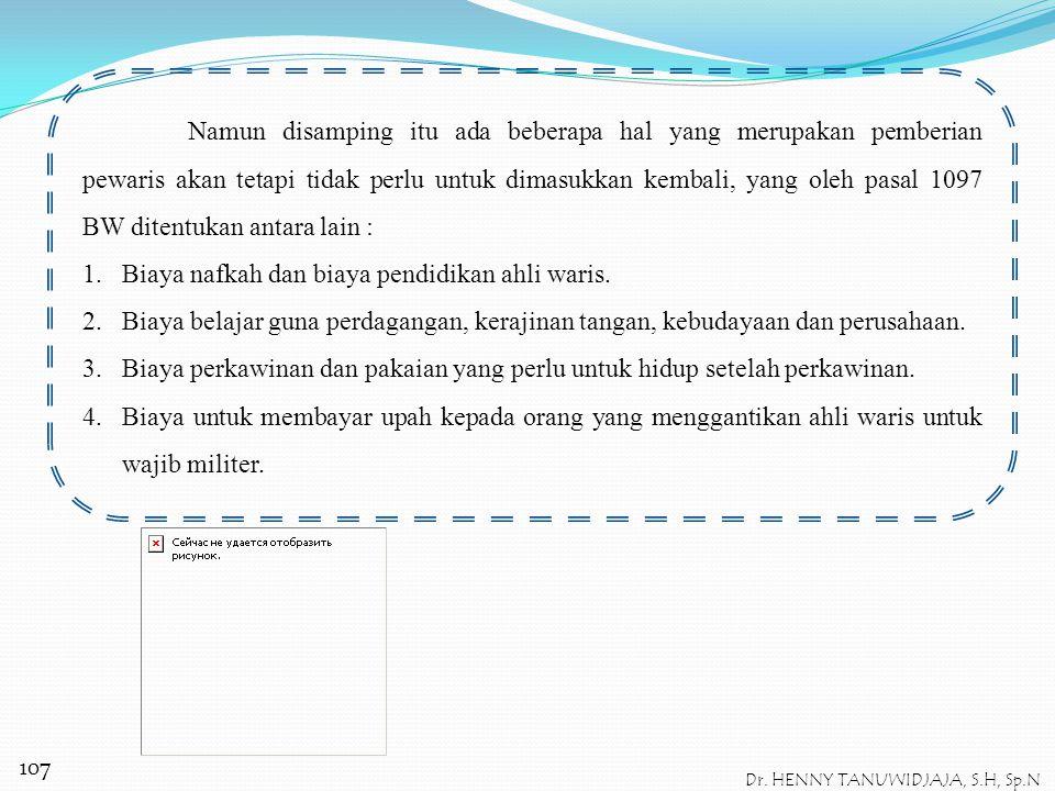 Dr. HENNY TANUWIDJAJA, S.H, Sp.N