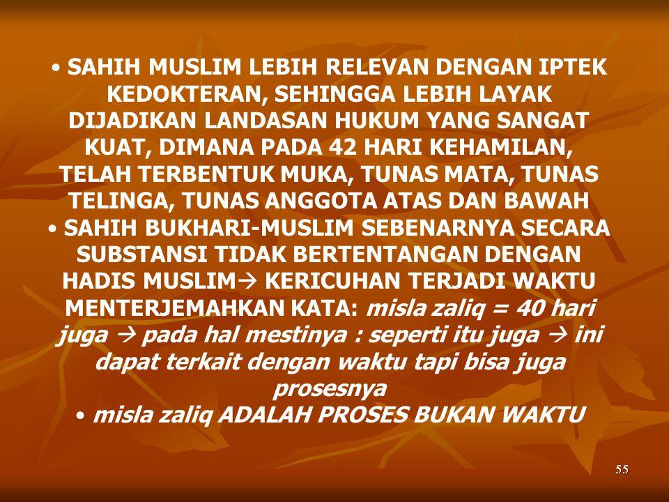 misla zaliq ADALAH PROSES BUKAN WAKTU