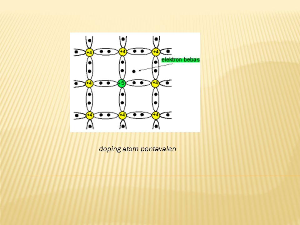 doping atom pentavalen