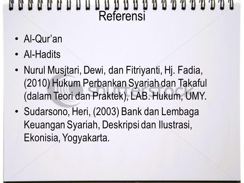 Referensi Al-Qur'an Al-Hadits