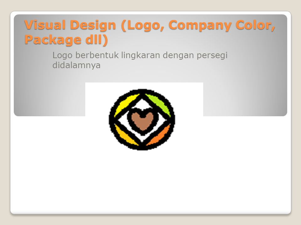 Visual Design (Logo, Company Color, Package dll)