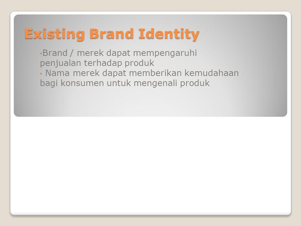 Existing Brand Identity