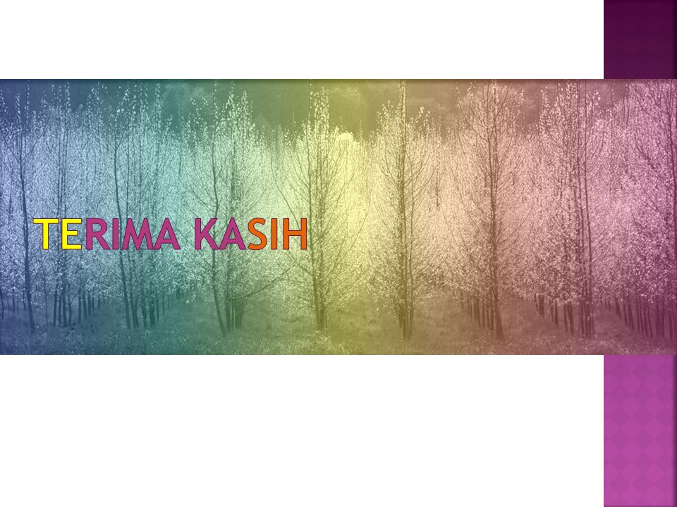 TERIMA KASIH Picture with multicolored tint (Basic)