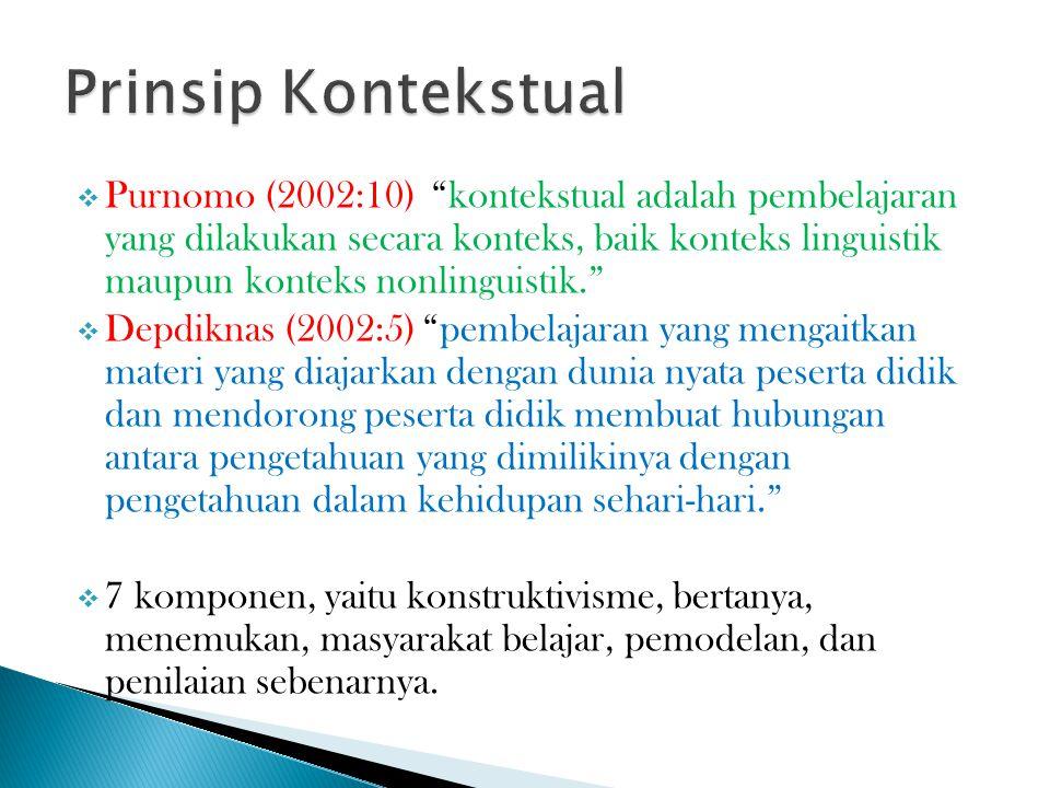 Prinsip Kontekstual