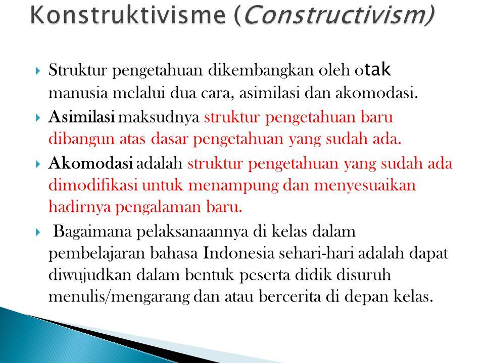 Konstruktivisme (Constructivism)