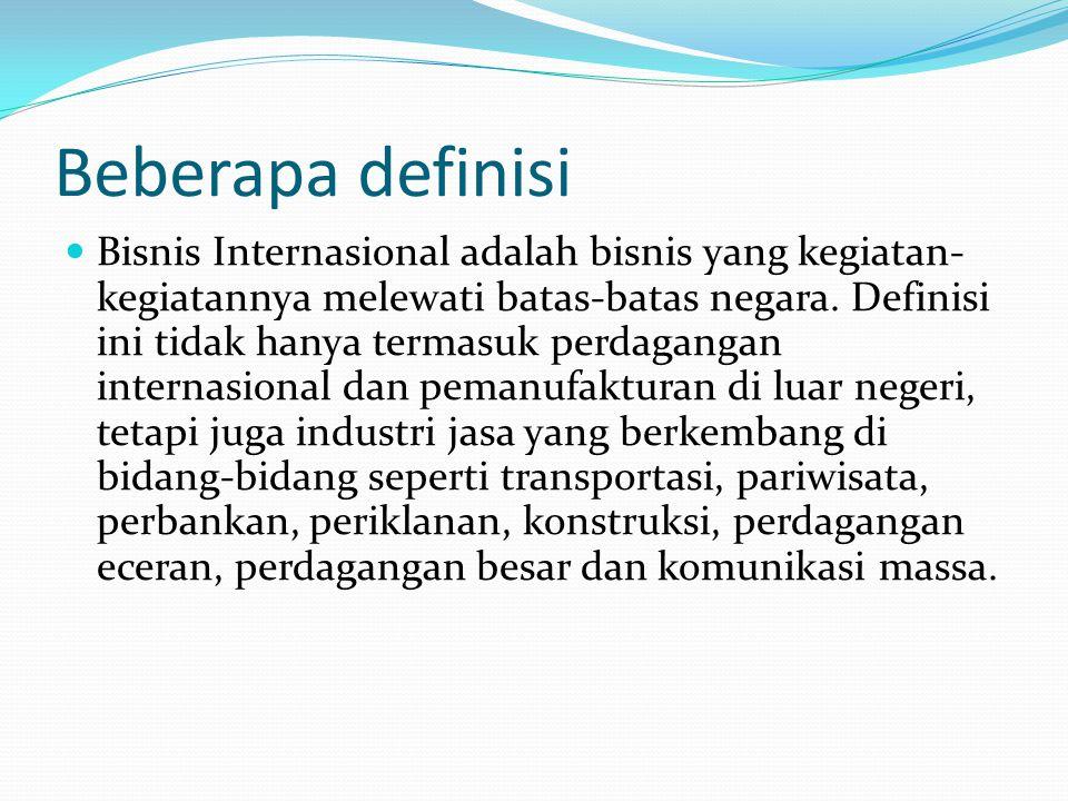 Beberapa definisi