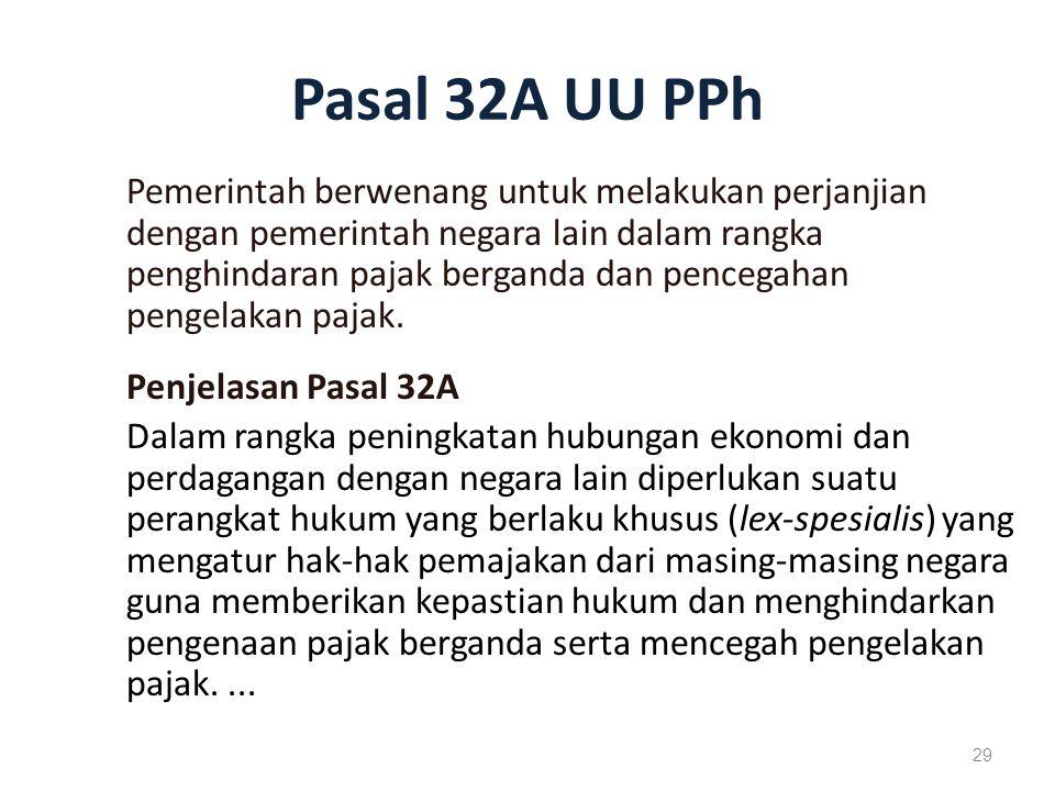 Pasal 32A UU PPh