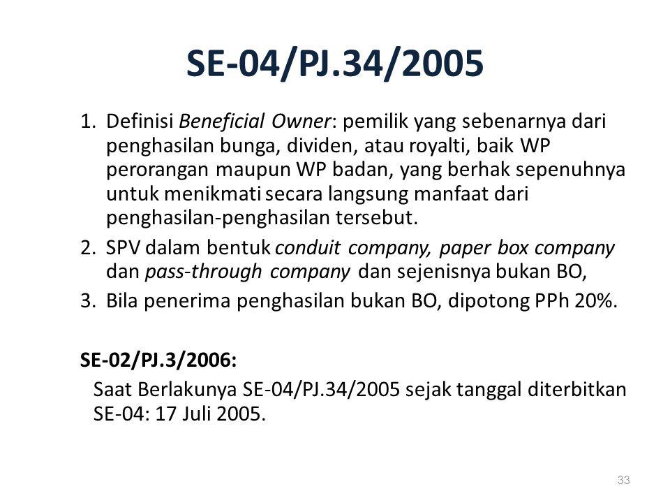 SE-04/PJ.34/2005