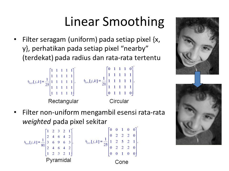 Linear Smoothing