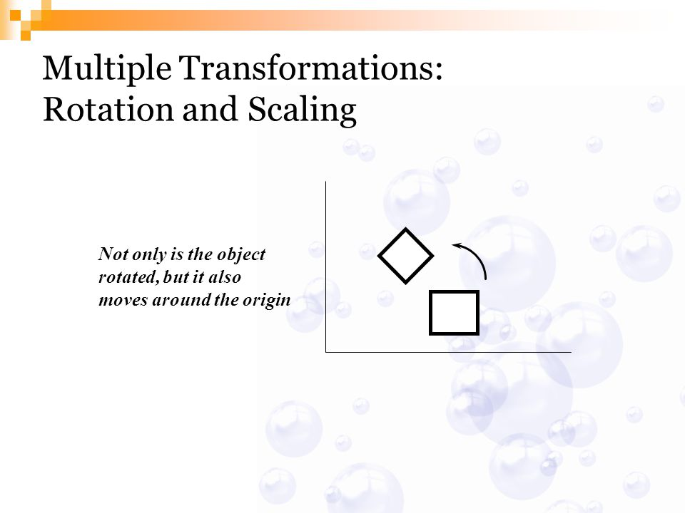 Multiple Transformations: Rotation and Scaling