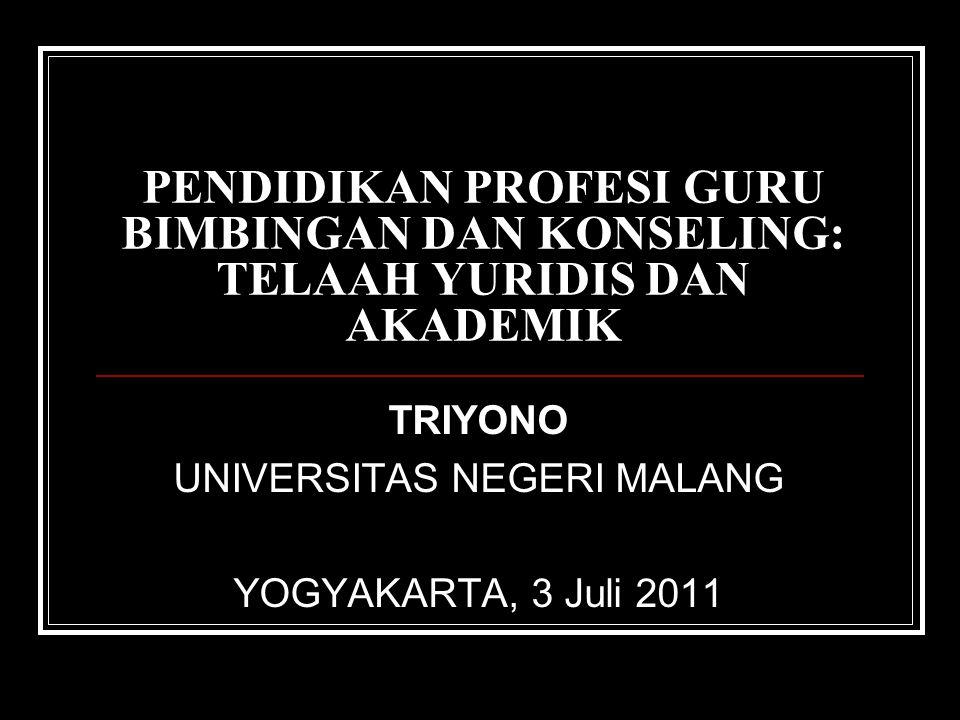 TRIYONO UNIVERSITAS NEGERI MALANG YOGYAKARTA, 3 Juli 2011