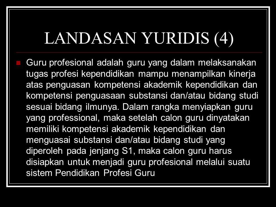 LANDASAN YURIDIS (4)