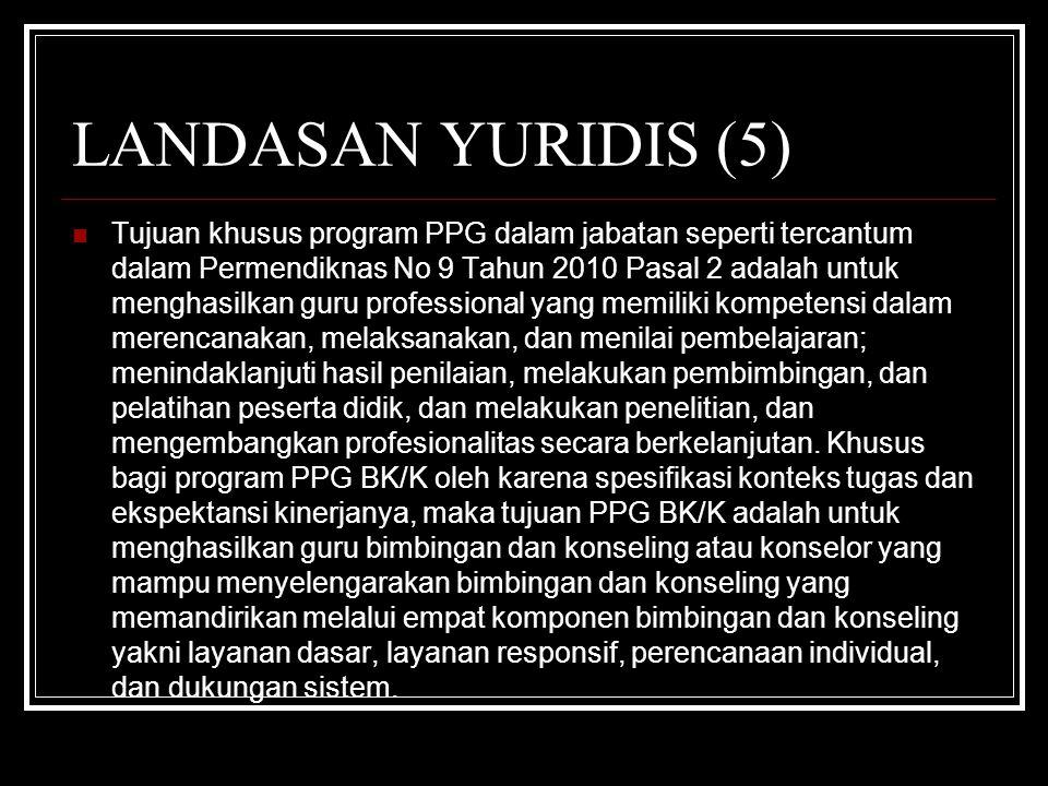 LANDASAN YURIDIS (5)