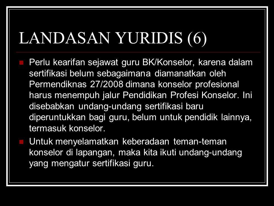 LANDASAN YURIDIS (6)