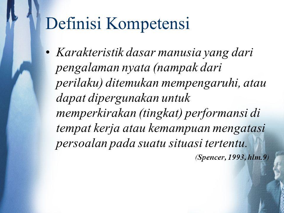 Definisi Kompetensi