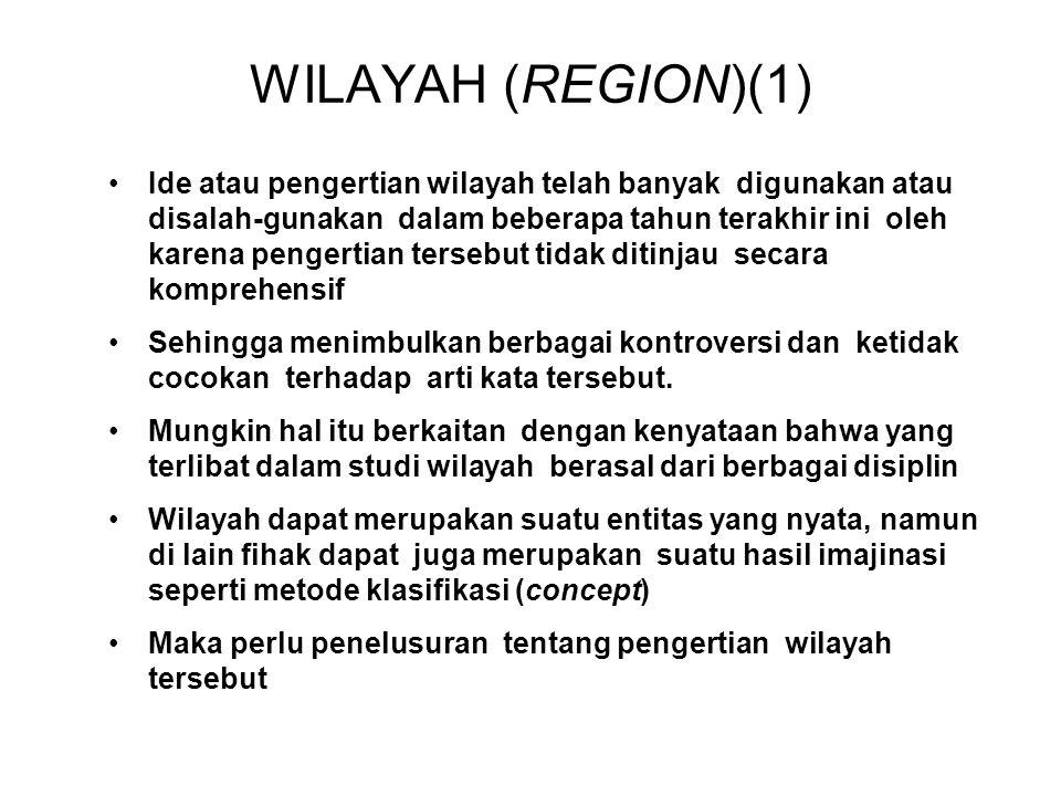 WILAYAH (REGION)(1)