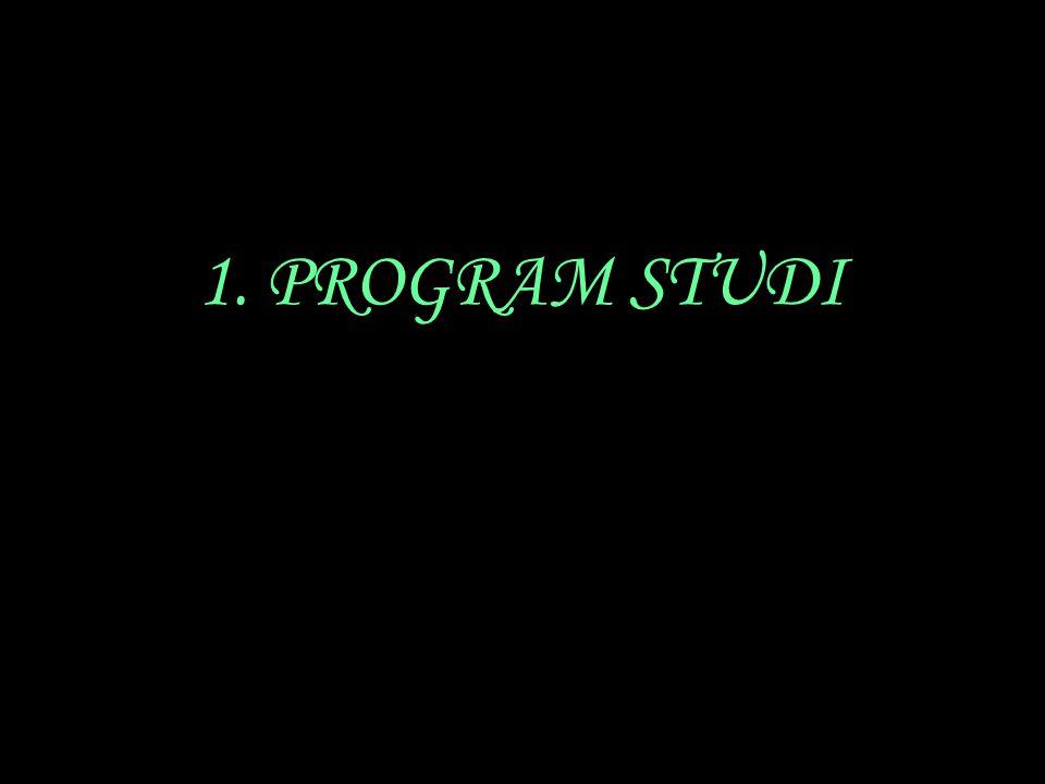 1. PROGRAM STUDI