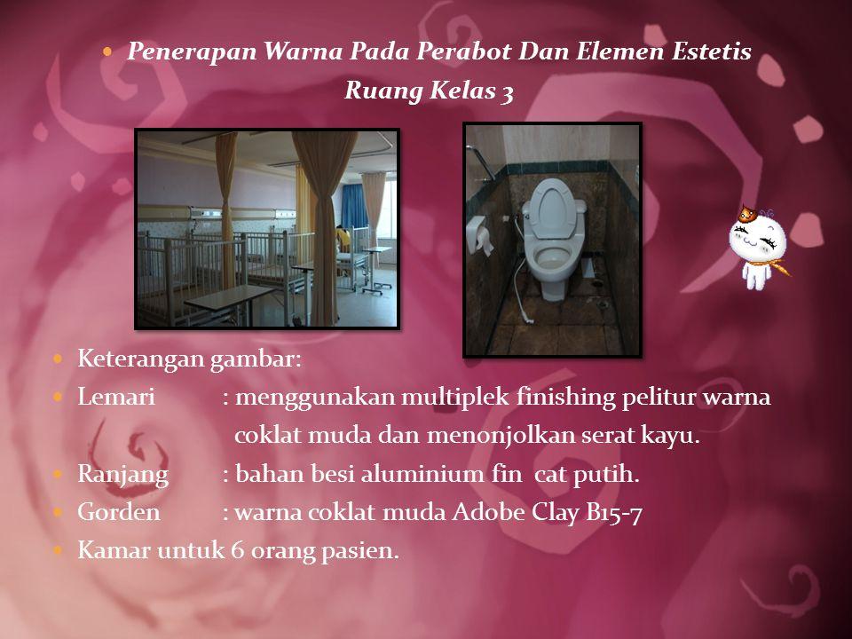 Penerapan Warna Pada Perabot Dan Elemen Estetis