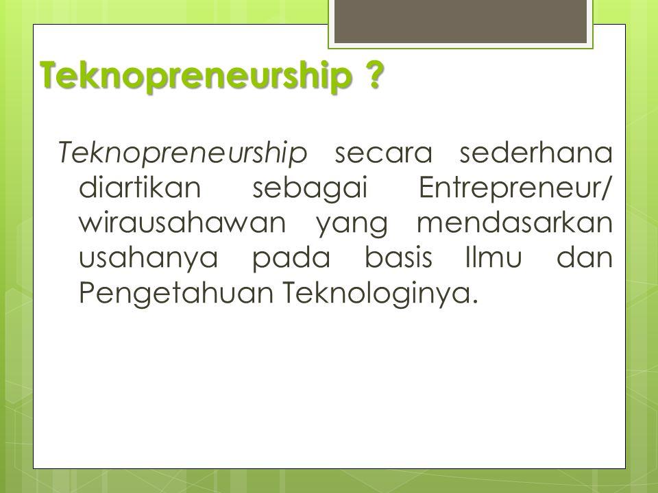 Teknopreneurship