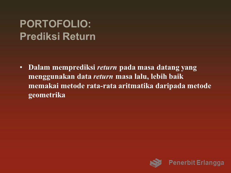 PORTOFOLIO: Prediksi Return
