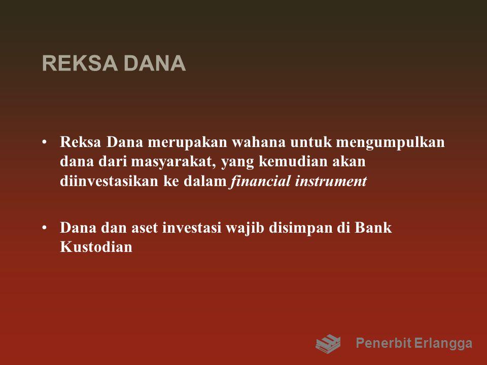 REKSA DANA Reksa Dana merupakan wahana untuk mengumpulkan dana dari masyarakat, yang kemudian akan diinvestasikan ke dalam financial instrument.