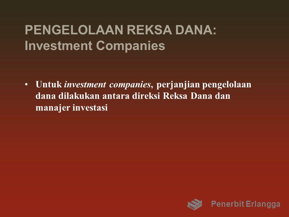 PENGELOLAAN REKSA DANA: Investment Companies