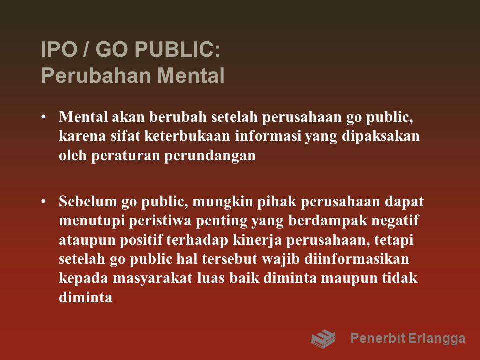 IPO / GO PUBLIC: Perubahan Mental