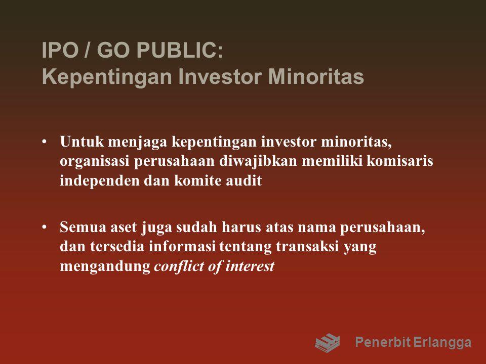 IPO / GO PUBLIC: Kepentingan Investor Minoritas