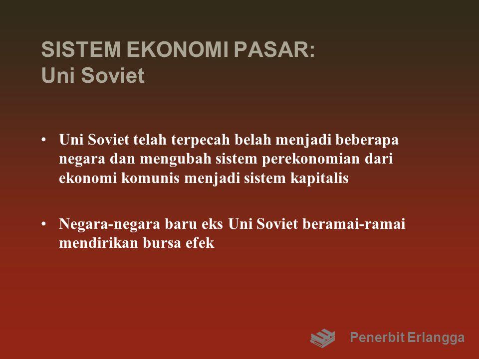 SISTEM EKONOMI PASAR: Uni Soviet
