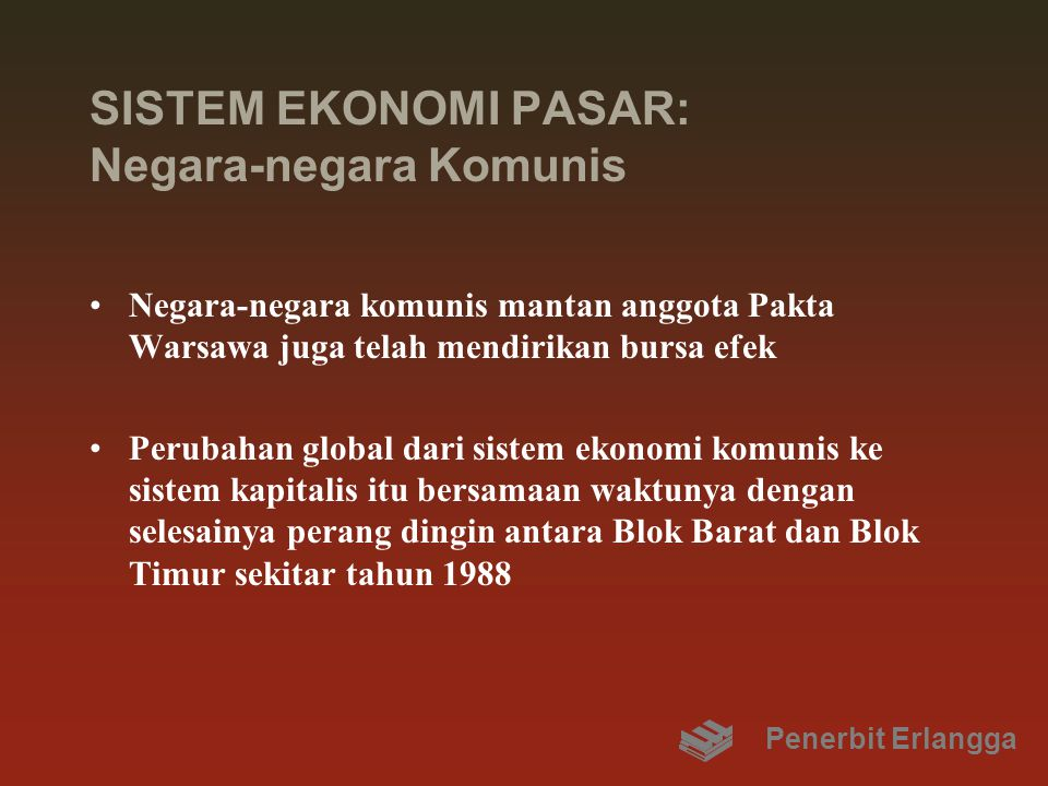 SISTEM EKONOMI PASAR: Negara-negara Komunis