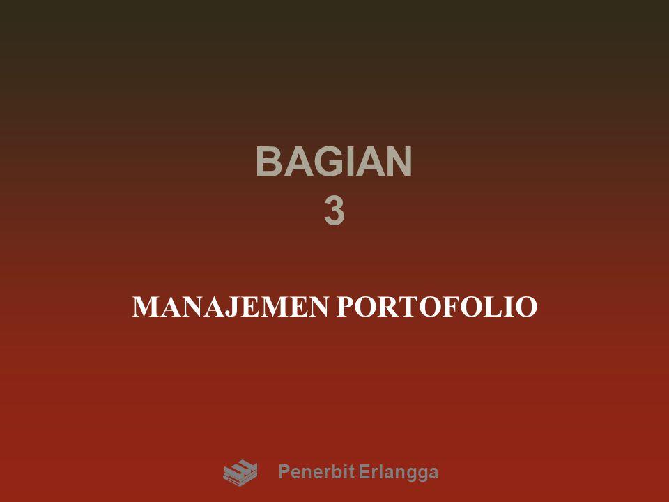 BAGIAN 3 MANAJEMEN PORTOFOLIO Penerbit Erlangga