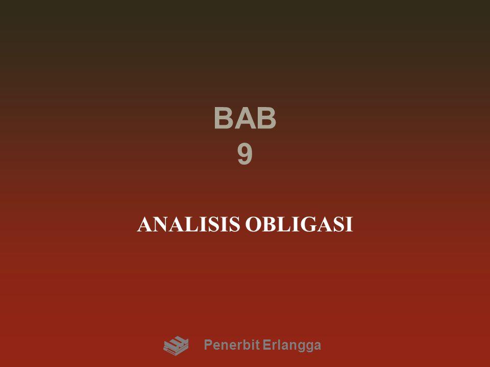 BAB 9 ANALISIS OBLIGASI Penerbit Erlangga