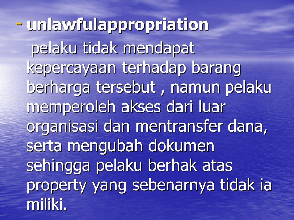 unlawfulappropriation
