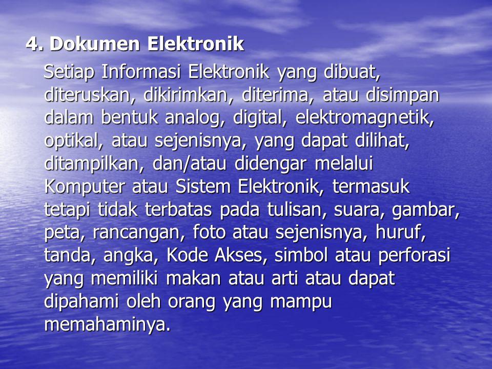 4. Dokumen Elektronik