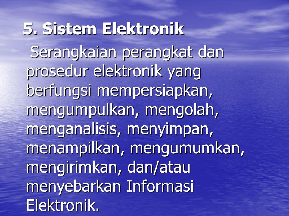 5. Sistem Elektronik