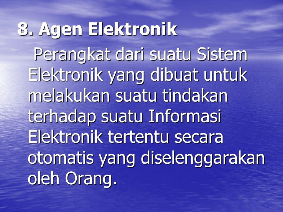 8. Agen Elektronik