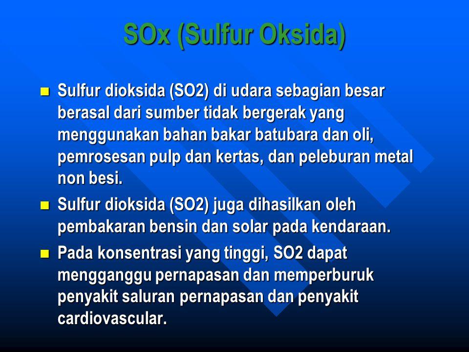 SOx (Sulfur Oksida)