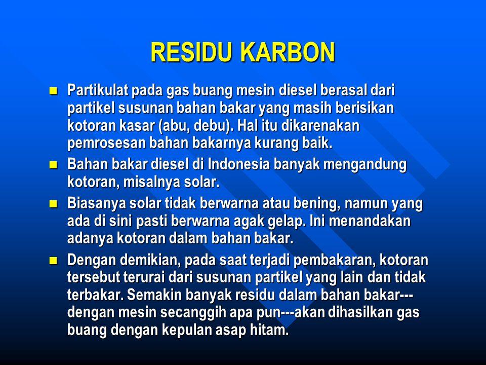 RESIDU KARBON