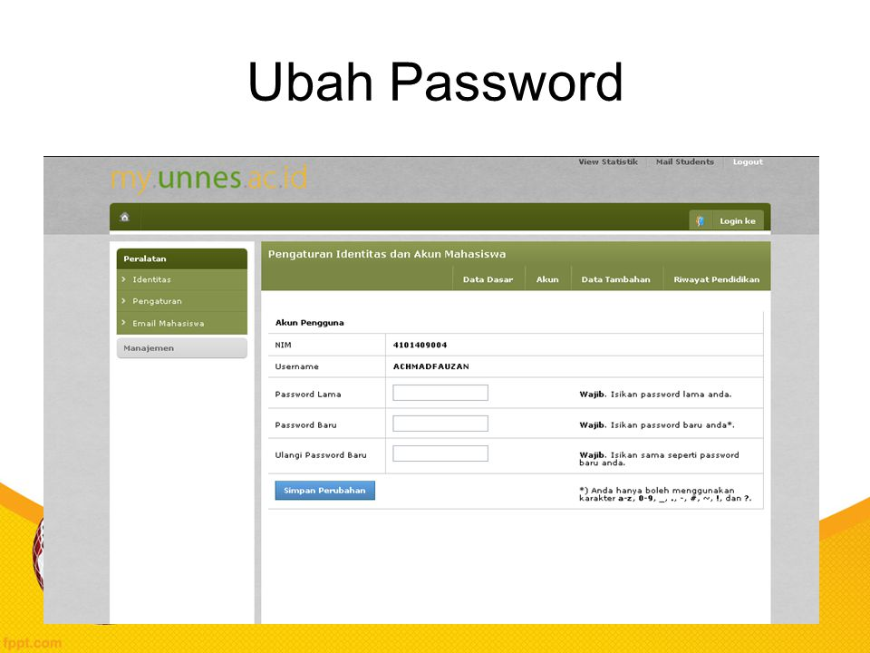 Ubah Password