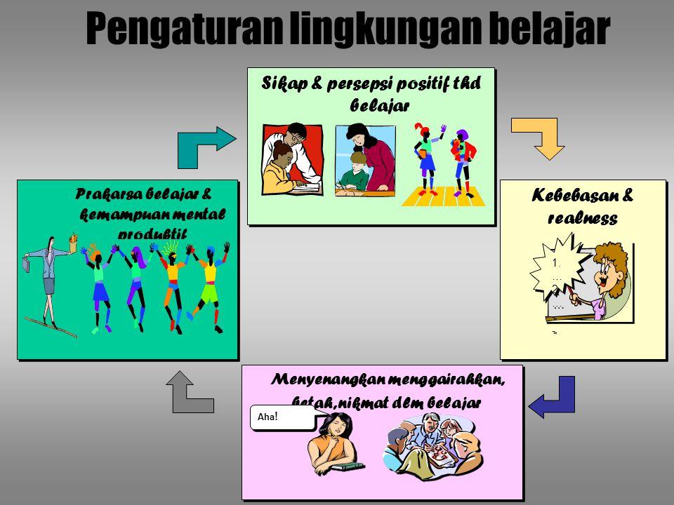 Pengaturan lingkungan belajar