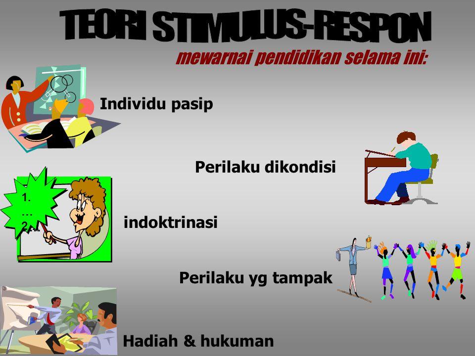 TEORI STIMULUS-RESPON