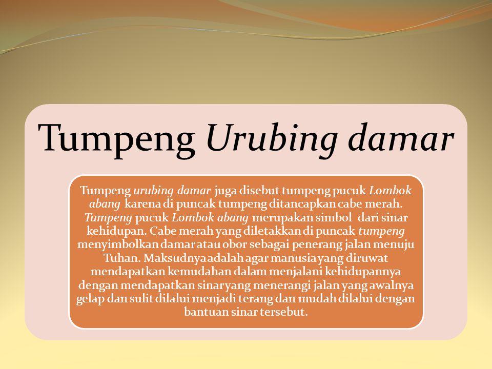 Tumpeng Urubing damar