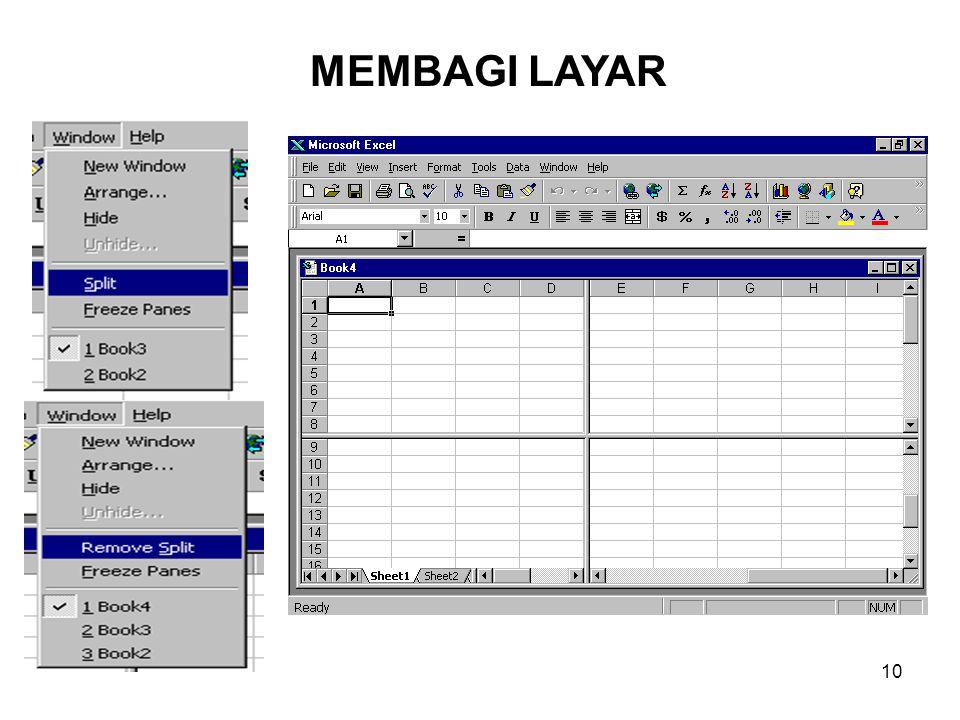MEMBAGI LAYAR