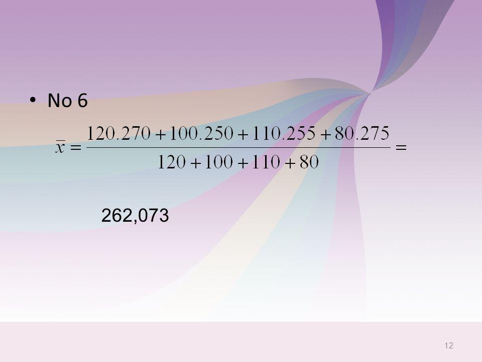 No 6 262,073