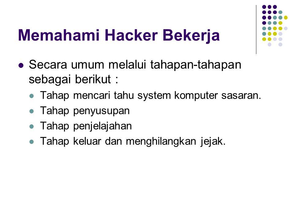 Memahami Hacker Bekerja