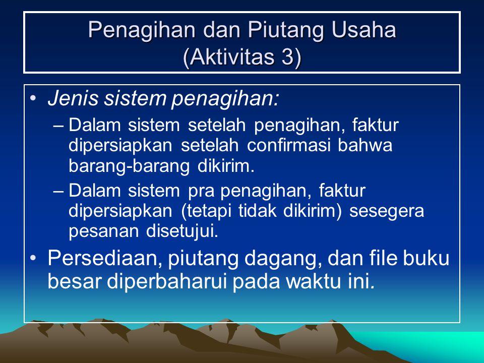 Penagihan dan Piutang Usaha (Aktivitas 3)
