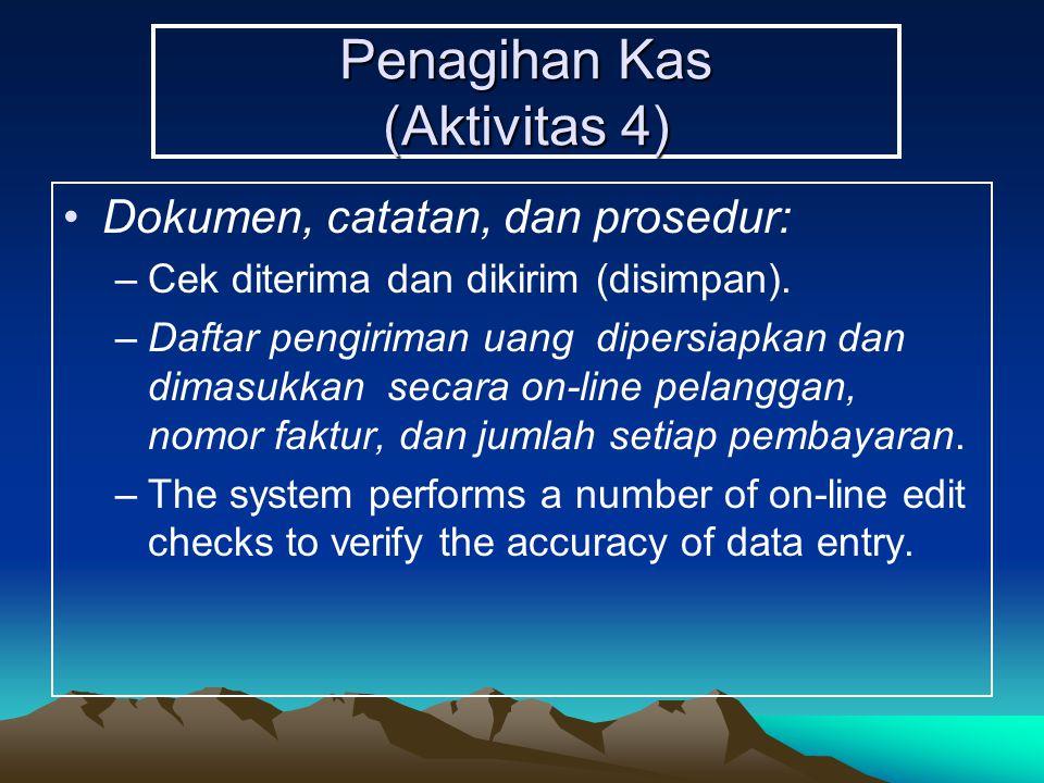 Penagihan Kas (Aktivitas 4)