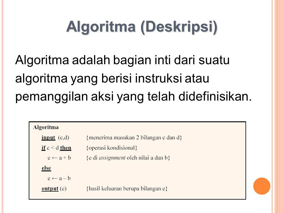 Algoritma (Deskripsi)
