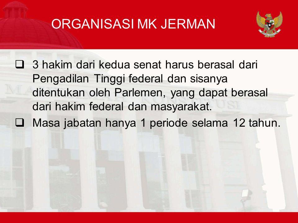 ORGANISASI MK JERMAN