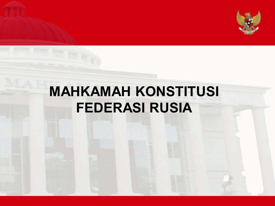 MAHKAMAH KONSTITUSI FEDERASI RUSIA